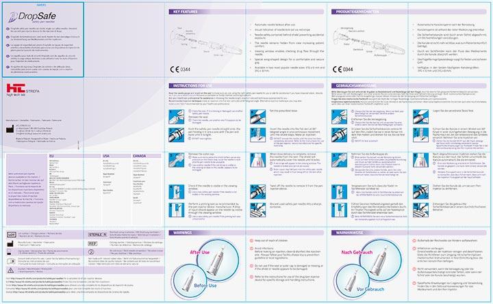 DropSafe - Instrucciones de Uso